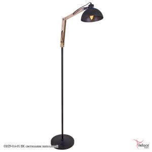 01029-0.6-01 BK светильник напольный