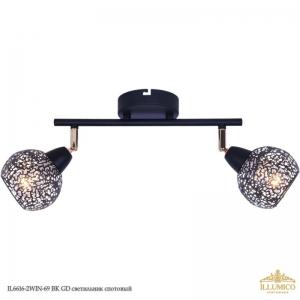 IL6616-2WIN-69 RS GD светильник спотовый