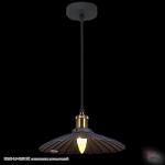 08160-0.9-01SS BK светильник потолочный