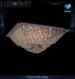 Светильник Хрусталь -  Angelina 102/18 хром/тонир хруст Strotskis LED