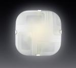 Светильник СОНЕКС 1141  бел/хром E27 100W ILLUSION