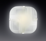 Светильник СОНЕКС 2141 бел/хром E27 2*100W ILLUSION
