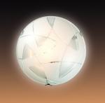 Светильник СОНЕКС 141 хром/белый Н/п E27 100W GENI