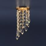 Светильник 205A C золото/хрусталь Elektrostandard