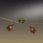 Светильник ODEON LIGHT 2167/4W бронзов/мозаика G9 4*40W Glosse