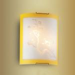 Светильник СОНЕКС 2247 желт/хром E27 2*60W Sakura