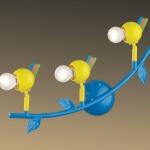Светильник ODEON LIGHT 2288/3W цветн E14 40W Bird