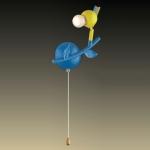 Светильник ODEON LIGHT 2288/1W цветн E14 40W Bird
