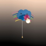 Светильник ODEON LIGHT 2290/1W цветн E14 40W Ranbo