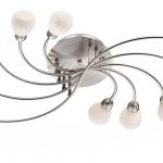 Светильник ODEON LIGHT 2469/10C никель/бел G9 10*40W