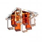 Светильник Novotech 369368 хром/прозр-янтар G9 40W