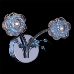 Светильник Галоген - 4868/2 хром/синий