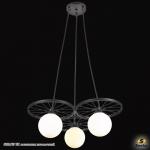 6008/3P BK светильник потолочный