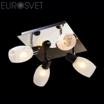 Светильник СПОТЫ - 60301/4 хром/венге