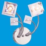 Светильник настенный галоген 6705/2wCR WTRBPLED