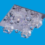 Светильник потолочный квадраты 8171/4CR RC LED