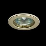 Светильник DL10 золото MR-16