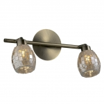 Светильник ODEON LIGHT 2166/2W бронзов/мозаика G9 2*40W Glosse