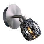Светильник ODEON LIGHT 2168/1W мат ник/мозаика G9 40W Glosse