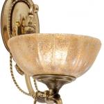 LB 8150/1 бра  E27 40W античное золото L41W33H12