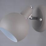 LB 9216/1 Олаф Серый/хром E14 40W