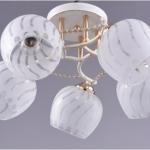 LV 10010/5 Сюзанна Белое золото/золото E27 40W