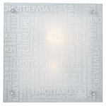 Светильник СОНЕКС 2257 хром/белый Е27 2*60W 220V GRAFIKA