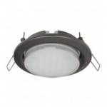 Светильник Ecola GX53 H4 черный хром 38*106