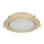 Светильник Ecola GX70-H5 220V GX70 золото