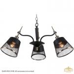 IL6182-3PAU-19 BK AB светильник потолочный