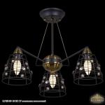 IL7185-3P- 28 BK CP светильник потолочный