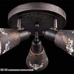IL8455-3CSQ-69 BK GD светильник потолочный