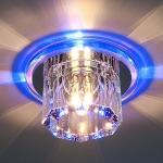 Светильник N4/A хром/синий Elektrostandard