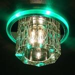 Светильник N4/A хром/зеленый Elektrostandard